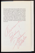Basketball Collectibles:Programs, Collection of Four Basketball Stars Signed Books. ...