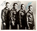 Football Collectibles:Photos, Circa 1924 Four Horsemen of Notre Dame Signed Photograph. ...