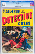 Golden Age (1938-1955):Crime, All-True Detective Cases #4 (Avon, 1954) CGC FN 6.0 Off-white pages....