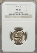Jefferson Nickels: , 1979 5C MS67 NGC. NGC Census: (7/0). PCGS Population (0/0).Mintage: 463,188,000. ...