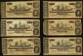 Confederate Notes:1864 Issues, T67 $20 1864 Eleven Examples.. ... (Total: 11 notes)