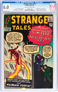 Strange Tales #110 (Marvel, 1963) CGC FN 6.0 Off-white to white pages