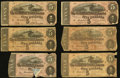 Confederate Notes:1864 Issues, T69 $5 1864 Twenty-nine Examples.. ... (Total: 29 notes)