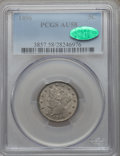 Liberty Nickels: , 1896 5C AU58 PCGS. CAC. PCGS Population (39/328). NGC Census:(13/271). Mintage: 8,842,920. Numismedia Wsl. Price for probl...