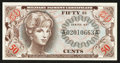 Military Payment Certificates:Series 651, Series 651 50¢ Choice New.. ...