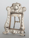 Silver Holloware, American, A TIFFANY & CO. SILVER PICTURE FRAME. Tiffany & Co., New York, New York, circa 1883-1884. Marks: TIFFANY & CO., STERLING-S...