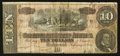 Confederate Notes:1864 Issues, T68 $10 1864 PF-31 Cr. 549.. ...