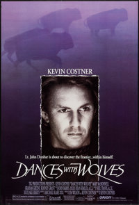 """Dances with Wolves & Others Lot (Orion, 1990). One Sheets (4) (27"""" X 41"""") DS. Western. ... (Total: 4 I..."""