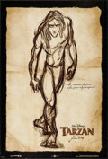 "Movie Posters:Animation, Tarzan (Buena Vista, 1999). One Sheets (3) (27"" X 40"") DS Advances. Animation.. ... (Total: 3 Items)"