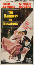"""Movie Posters:Musical, The Barkleys of Broadway (MGM, 1949). Three Sheet (41"""" X 80""""). Musical.. ..."""