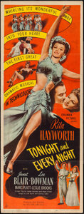 """Movie Posters:Musical, Tonight and Every Night (Columbia, 1945). Insert (14"""" X 36""""). Musical.. ..."""
