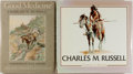 Books:Art & Architecture, Group of Two Books Related to Charles M. Russell. Includes Good Medicine and Charles M. Russell by Frederic G. Renne... (Total: 2 Items)