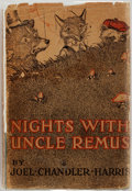 Books:Literature Pre-1900, Joel Chandler Harris. Nights with Uncle Remus. Boston:Houghton Mifflin, [1911]. Printed at Riverside Press. Publish...