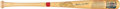 Baseball Collectibles:Bats, 1987 Mickey Mantle Signed Cooperstown Collection Bat. ...