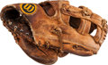 Baseball Collectibles:Others, 1974-75 George Brett Game Used Fielder's Glove - Earliest Known....