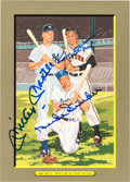 Baseball Collectibles:Others, 1990-98 Perez Steele Signed Great Moments Cards With 68 SignedCards....