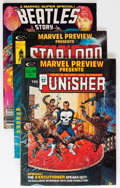 Magazines:Superhero, Marvel Preview Group (Marvel, 1975-79) Condition: Average FN+....(Total: 12 Comic Books)