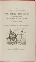 Books:Literature Pre-1900, [Robert Cruikshank]. Pierce Egan. The Finish to the Adventuresof Tom, Jerry, and Logic. In Their Pursuits through...
