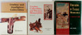 Books:Americana & American History, Group of Three Books on Western Collectibles and Memorabilia.Various publishers, 1989-1991. Quartos. Publishers' bindings o...(Total: 3 Items)