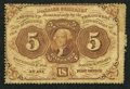 Fractional Currency:First Issue, Fr. 1229 5¢ First Issue Very Good-Fine.. ...
