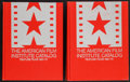 """Movie Posters:Miscellaneous, American Film Institute Catalogue Volume F6 1961-1970 (R.R. Bowker, 1976). Hardcover Books (3) (8.5"""" X 11""""). Miscellaneous.... (Total: 2 Items)"""