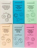Books:Americana & American History, Richard W. Helbock. Group of Six Booklets From The La Posta Pocket Guide Series. Checklist of post offices by state. 1988 to... (Total: 6 Items)
