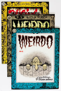 Weirdo Group (Last Gasp, 1981-91) Condition: Average VF-.... (Total: 15 Comic Books)