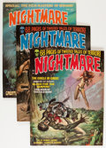 Magazines:Horror, Nightmare Group (Skywald, 0) Condition: Average FN+.... (Total: 15 Comic Books)