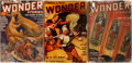 "Books:Periodicals, Group of Three Thrilling Wonder Stories Magazines. Various issues 1939-1941. New York: Better Publications. 6.75"" x 10"". Ori... (Total: 3 Items)"
