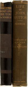Books:Sporting Books, [Charles James Apperley]. Two Illustrated Sporting Book Reprints byNimrod. Includes: Memoirs of the Life of John ... (Total: 2Items)
