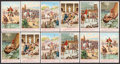 "Non-Sport Cards:Sets, 1938 Liebig ""Julius Caesar"" Dutch and French Complete SetsCollection (11). ..."