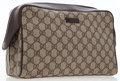 Luxury Accessories:Bags, Gucci Classic Monogram Canvas Toiletry Pouch. ...