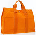 Luxury Accessories:Bags, Hermes Orange H Canvas Fourre Tout MM Tote Bag . ...