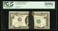 Error Notes:Ink Smears, Fr. 2025-B $10 1981 Federal Reserve Note. PCGS Choice About New55PPQ.. ...