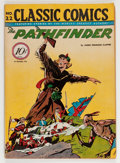 Golden Age (1938-1955):Adventure, Classic Comics #22 The Pathfinder - First Edition (Gilberton, 1944) Condition: VG/FN....