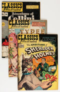 Golden Age (1938-1955):Classics Illustrated, Classic Comics #33, 36, and 38 First Editions Group (Gilberton,1947).... (Total: 3 Comic Books)