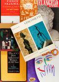 Books:Non-fiction, Group of Six Nonfiction Books and Taboo Board Game. Various publishers, 1956-2001. Includes art books on Michela... (Total: 7 Items)