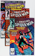 Modern Age (1980-Present):Superhero, The Amazing Spider-Man Box Lot (Marvel, 1980-94) Condition: AverageFN/VF....