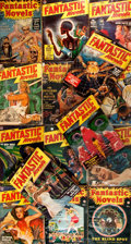 Books:Science Fiction & Fantasy, Group of Fifteen Issues of Fantastic Novels. New York: Frank A. Munsey, 1940 to 1949. Wrinkles, creases and edgewear... (Total: 15 Items)