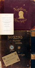 Books:Biography & Memoir, Group of Six Items Related to Napoleon. Includes two illustrated books on Napoleon, Napoleon's Memoirs in three volumes,... (Total: 6 Items)