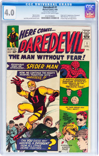 Daredevil #1 (Marvel, 1964) CGC VG 4.0 Cream to off-white pages
