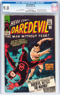 Silver Age (1956-1969):Superhero, Daredevil #7 (Marvel, 1965) CGC VF/NM 9.0 Off-white to white pages....