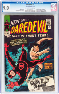 Daredevil #7 (Marvel, 1965) CGC VF/NM 9.0 Off-white to white pages