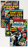 Bronze Age (1970-1979):Horror, Tomb of Dracula Group (Marvel, 1973-78) Condition: Average NM-....(Total: 42 Comic Books)