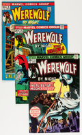 Bronze Age (1970-1979):Horror, Werewolf by Night Group (Marvel, 1972-76) Condition: AverageVF/NM.... (Total: 35 Comic Books)
