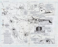 Original Comic Art:Panel Pages, James Calafiore and Bob Smith Super Heroes Stamp Album Celebratethe Century #2 Double-Page Panama Canal Spread (D...