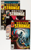 Modern Age (1980-Present):Superhero, Doctor Strange Group (Marvel, 1977-87) Condition: Average NM-....(Total: 55 Comic Books)