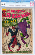 Silver Age (1956-1969):Superhero, The Amazing Spider-Man #6 (Marvel, 1963) CGC FN+ 6.5 Off-white pages....