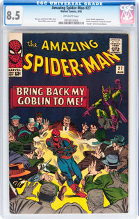 The Amazing Spider-Man #27 (Marvel, 1965) CGC VF+ 8.5 Off-white pages