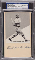 "Baseball Collectibles:Others, 1955 Frank ""Home Run"" Baker Signed Government Postcard, PSA/DNA GemMint 10. ..."